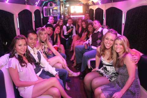 Party Limo Bus Chicago
